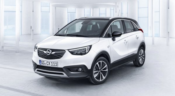 Opel объявил цены на новый кроссовер Crossland X