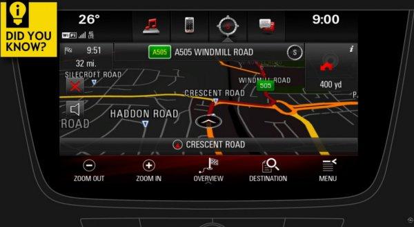 Opel подготовил видео-учебники по работе с навигатором и мультимедиа