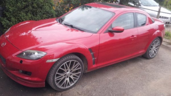 Житель Литвы продает Mazda RX-8 с двигателем от Renault Twingo