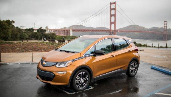 Электрокар Chevrolet Bolt EV преодолел 480 километров на одном заряде