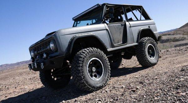Zero to 60 Designs обновила Ford Bronco, сделав его похожим на GT500