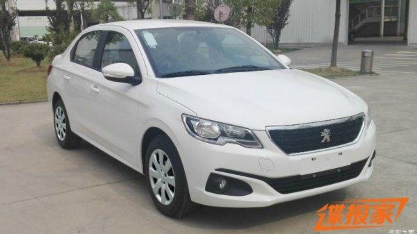 Обновленный Peugeot 301 дебютировал на рынке Китая