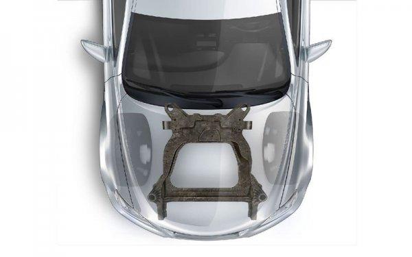 Ford и Magna разработали новый карбоновый подрамник
