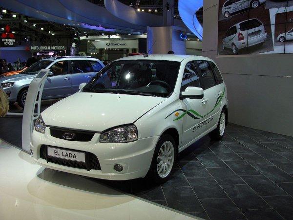 «АвтоВАЗ» четвертый год пытается продать 40 электромобилей