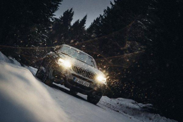 BMW X6 M50d xDrive прошел финальные испытания в горах Румынии