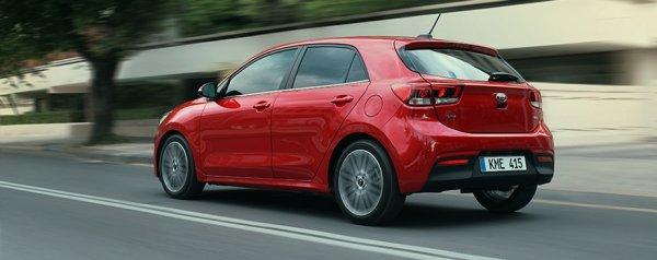 Выручка KIA от продаж автомобилей B-класса составила 4,4 млрд рублей