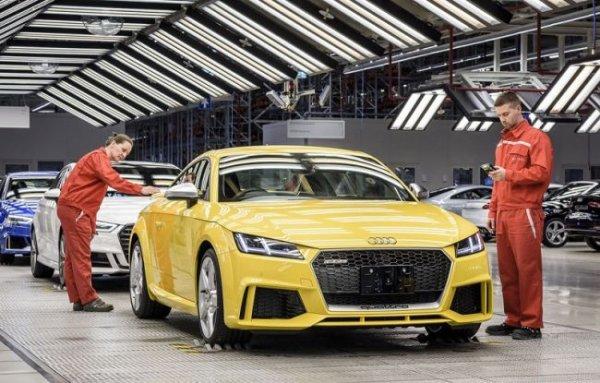 Audi Hungaria отличилась за 2016 гoд