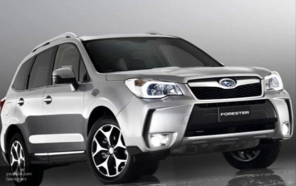 В России начались продажи нового кроссовера Subaru Forester