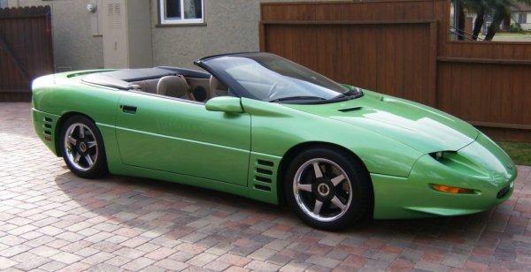Callaway C8 Camaro продадут на интернет-аукционе за 20 100 долларов
