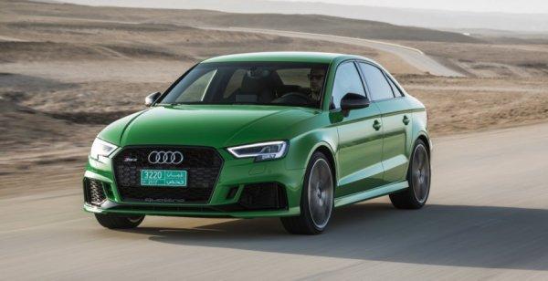 Audi показала новые снимки «заряженного» RS3 Sedan