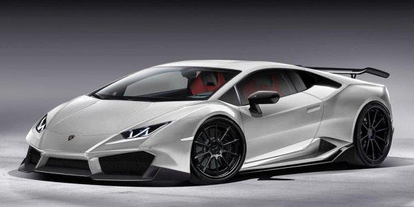 В ателье 1016 Industries сменили дизайн Lamborghini Huracan