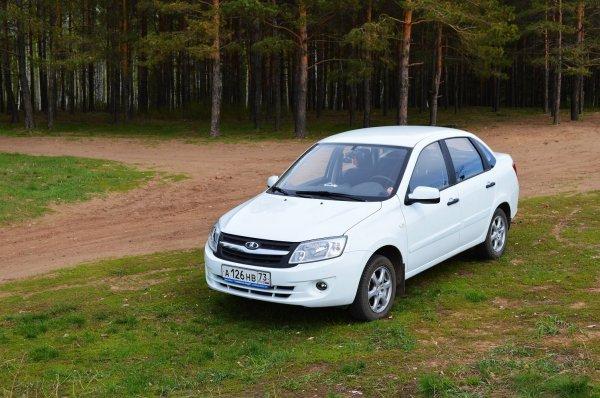 LADA Granta возглавила ТОП-5 самых популярных у таксистов автомобилей