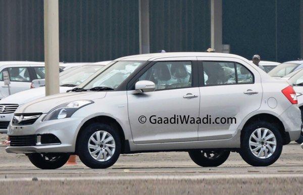 В Индии началось производство обновленного Maruti Suzuki Dzire