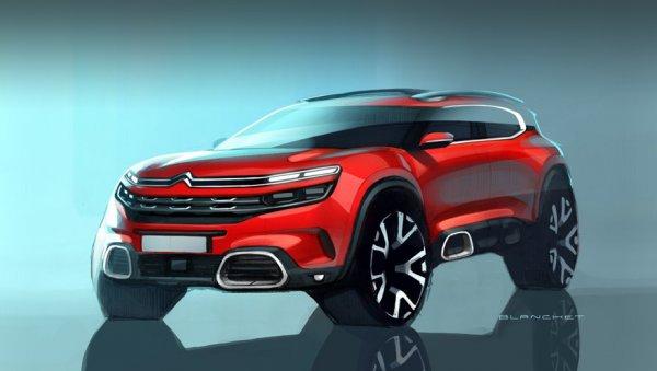 Citroen планирует презентовать новый кроссовер на Шанхайском автосалоне