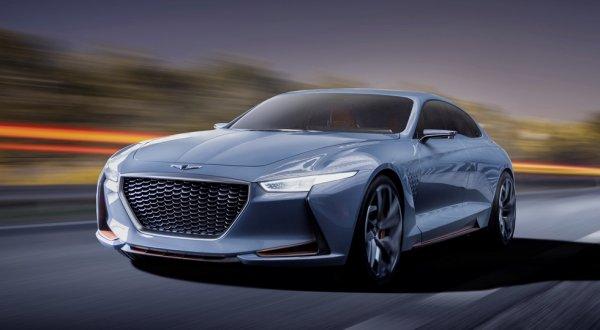 Новый седан Genesis G70 появится в России в 2018 году