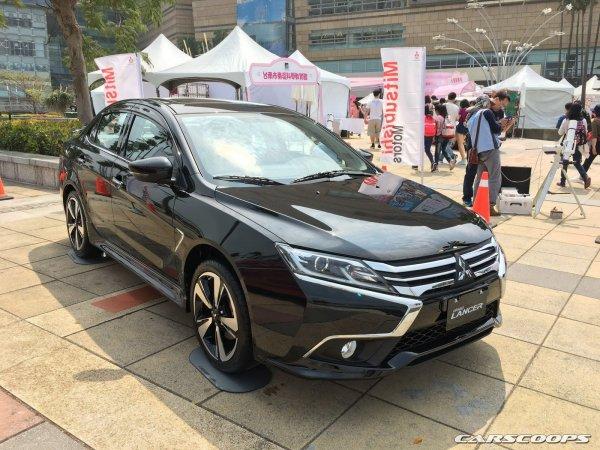 Появились первые «живые» снимки нового Mitsubishi Lancer Grand