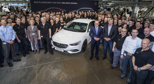 В Германии стартовало производство нового Opel Insignia