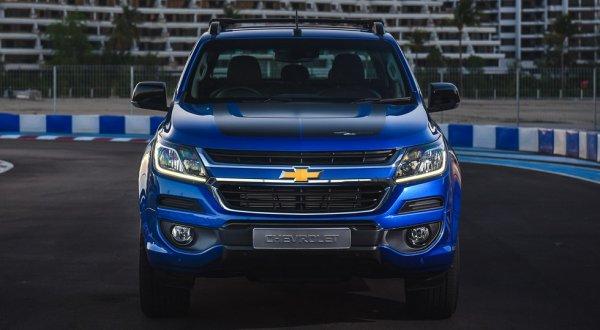 Обновлённый Chevrolet Colorado получил версию High Country Storm