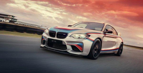В сети появились независимые рендеры экстремального купе BMW M2 CSL