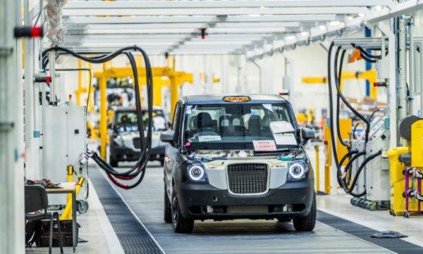 Китайцы будут выпускать лондонское такси на новом заводе