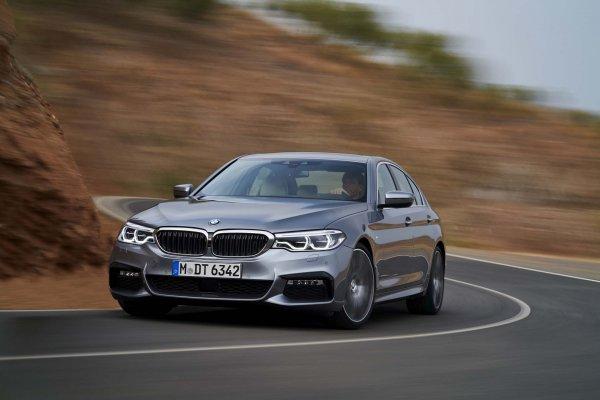 Представлен новый полноприводный BMW 540i 2017 модельного года