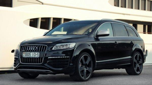 Внедорожник Q7 стал наиболее продаваемым среди ряда Audi в России