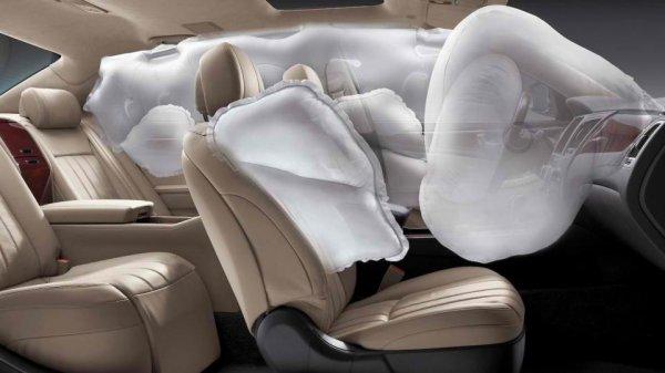 Ford создала подушку безопасности на потолке