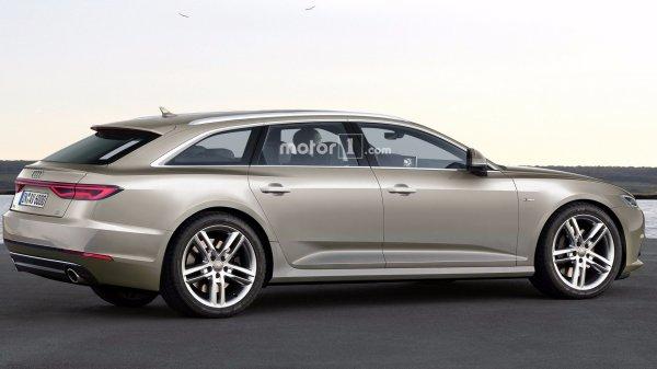 В интернете выложили первый рендер Audi A6 Allroad 2019