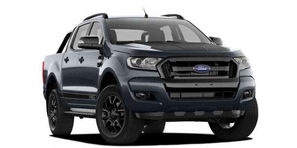 Ford Ranger получил новый цвет Jet Black