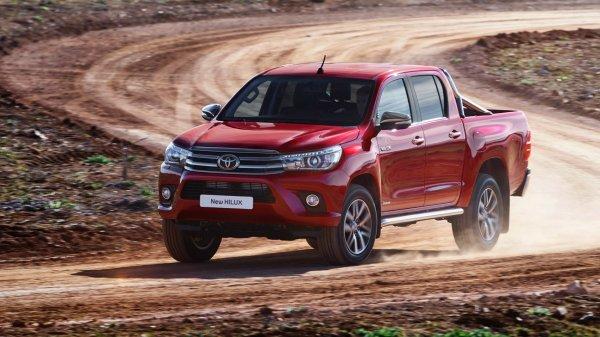 Toyota Hilux является лучшим пикапом в России