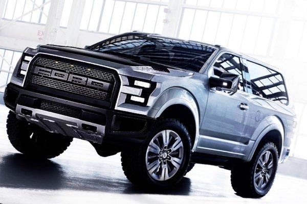 Ford усовершенствует устаревший пикап Bronco
