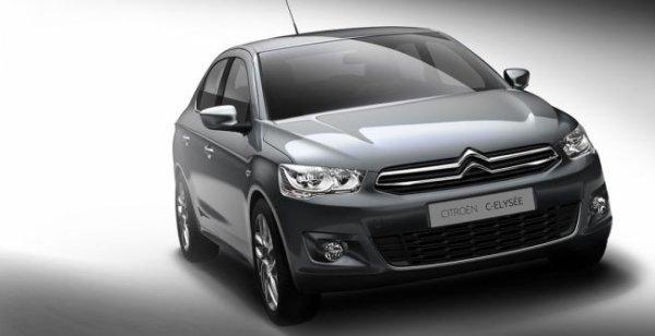 На украинский рынок вышел новый седан Citroen C-Elysee