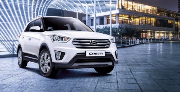 Hyundai в России выпустит бюджетный кроссовер Creta