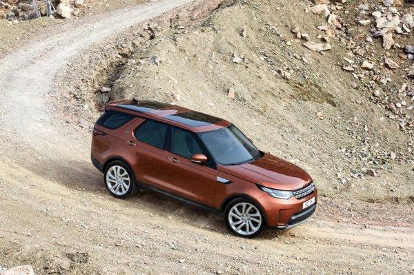 Новый Land Rover Discovery можно заказать в России по спецпредложениям