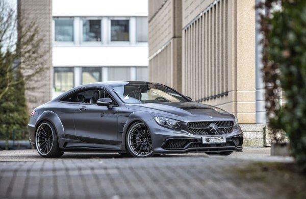 Ателье Prior-Design показало «мускулистый» Mercedes-Benz S-Class Coupe