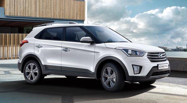 Кроссовер Hyundai Creta получил новую версию с двухцветным окрасом