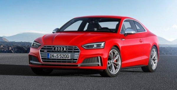 Audi презентовали новый автомобиль A5 Coupe 2017