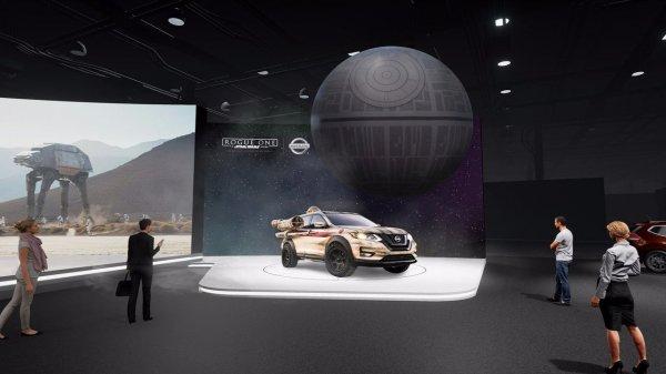 Приколы по Звездным Войнам: Nissan привезет в Нью-Йорк «Звезду смерти»
