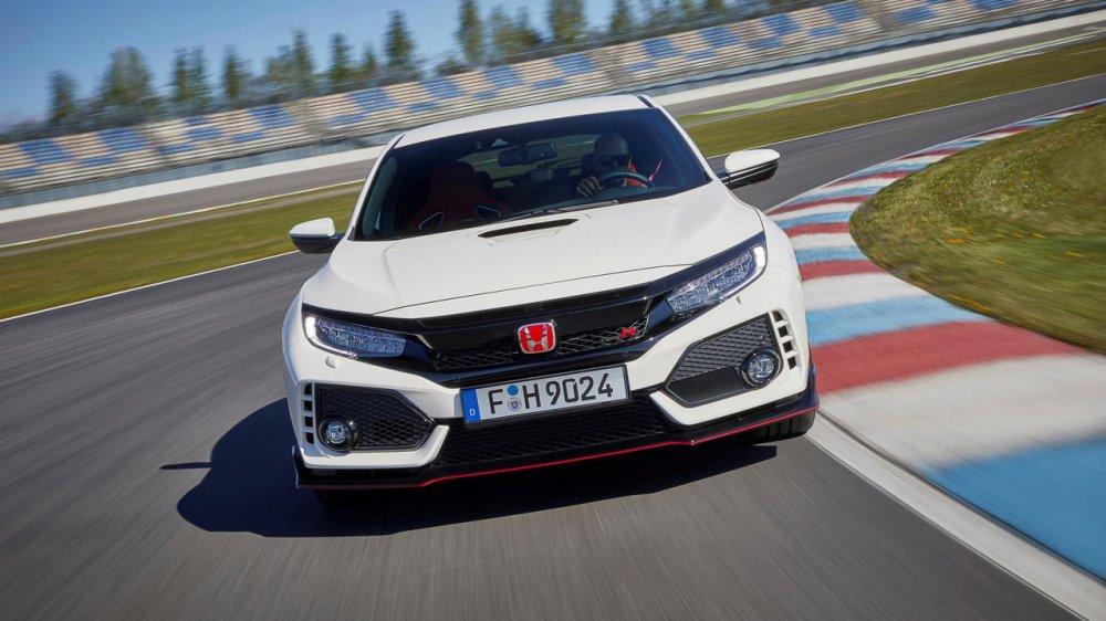 Смотри! Honda Civic Type R 2019 года в 2019 году