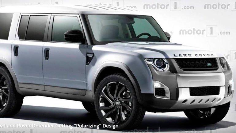 В Сети появились первые снимки Land Rover Defender 2019